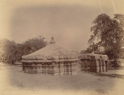 General view of the Nageshvara Temple, Nagapur